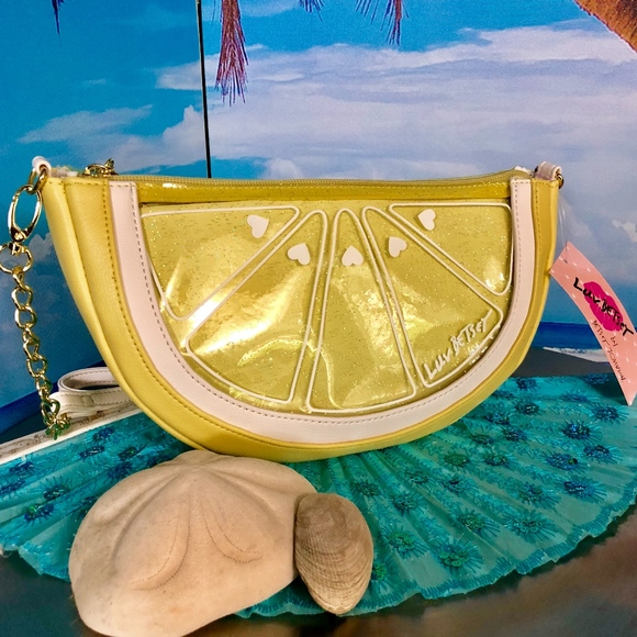 Betsey Johnson Handbags - Luv Betsey Fruit Slice Crossbody